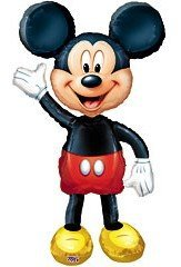 Air Walker-Mickey Mouse Foil Balloon (1 Per Package) front-867830