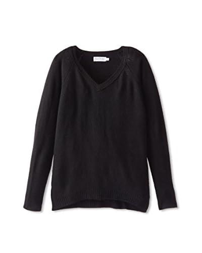 Velvet by Graham & Spencer Women's Cashmere Raglan Sweater
