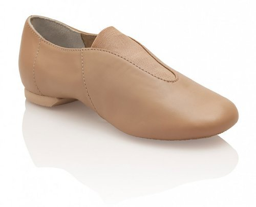 cp05-tan-us-uk-55-leather-show-stopper-jazz-adult-slip-on-car-by-capezio