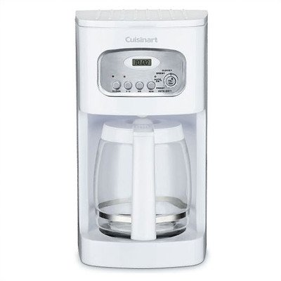12-Cup Programmable Coffeemaker Finish: White