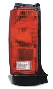 (1) Red Stop Tail Turn Light Plymouth Voyager 84-90 Lh