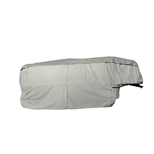 Budge Fifth Wheel RV Cover Fits Fifth Wheel RVs up to 41' Long (Gray, Polyproplyene) (Rv Cover Budge compare prices)