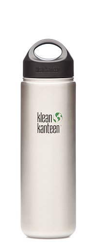 Klean Kanteen Wide Mouth Stainless Steel Water Bottle (27-Ounce)