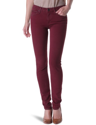 Lee Scarlett Skinny Women's Jeans Bordeaux W29INxL31IN