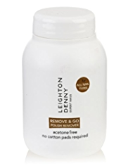 Leighton Denny Remove & Go Nail Polish Remover 60ml