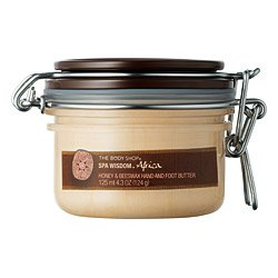 The Body Shop Spa Wisdom Africa Honey & Beeswax Hand and Foot Butter, 4.3 Ounce by The Body Shop