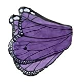 Fanciful Butterfly Wings, in Purple
