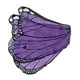 Fanciful Butterfly Wings, in Purple