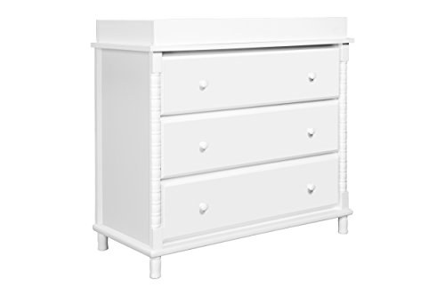 DaVinci Jenny Lind 3-Drawer Changer Dresser, White - 1