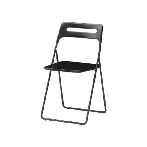 IKEA NISSE Klappstuhl, SCHWARZ