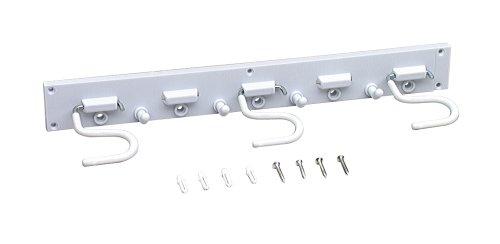 Lehigh SR16 Adjustable Storage Organizer Hanger WhiteB0000DI85N