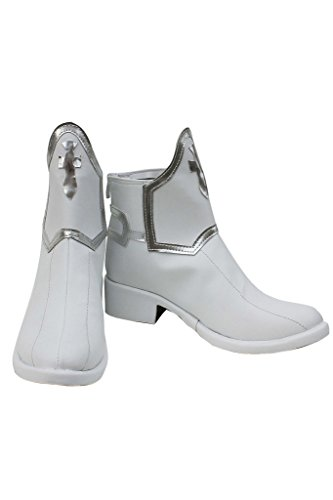 Sword Art Online Anime Asuna Yuuki Cosplay Shoes White Boots adult size