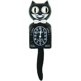 75th Anniversary Kit-Cat Clock in Black