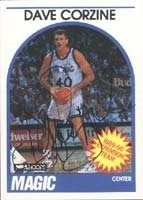 Dave Corzine Orlando Magic 1989 Hoops Autographed Hand Signed Trading Card. by Hall+of+Fame+Memorabilia