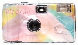 It's a Girl Baby Camera - 10 Pack