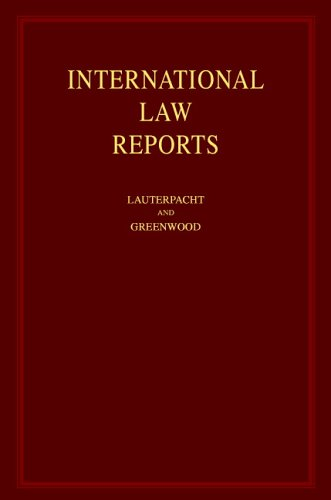 International Law Reports (Volume 63)