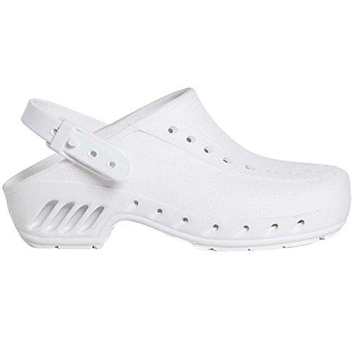 Giasco zoccoli, taglia 43/44, 1pezzo, bianco, neve/P43/44