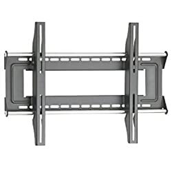 OmniMount U-3F Large Fixed Wall Mount for 37&quot; to 63&quot; Displays (Silver)