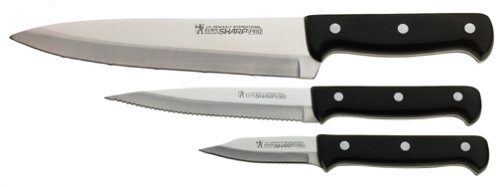 J.A. Henckels International Eversharp Pro 3-Pc Starter Knife Set