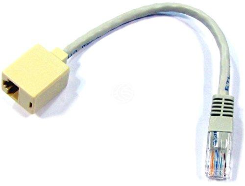 Cablematic - 5e UTP RJ45 Adattatore M/H Crusader 15 centimetri