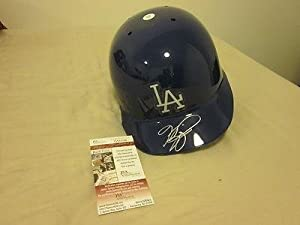 Mike Piazza Los Angeles Dodgers Autographed Helmet JSA - Autographed MLB Helmets and... by Sports+Memorabilia