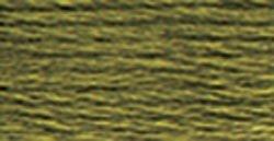 DMC Pearl Cotton Skeins Size 5 27.3 Yards Dark Khaki Green 115 5-3011; 12 Items/Order