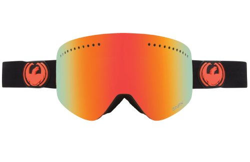 Dragon Alliance NFX Ski Goggles, Jet/Red Ion + Yellow Blue Ion