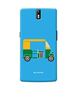 Be Awara Desi Auto Back Cover Case for OnePlus One