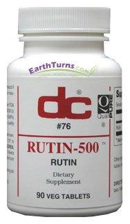 DC Labs - Rutin 500 - 90 Tablets