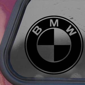 Amazon Com Bmw Black Decal Car Truck Bumper Window Vinyl