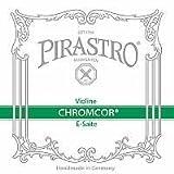Pirastro Chromcor 4/4 Violin String Set - Medium Gauge with Ball End E