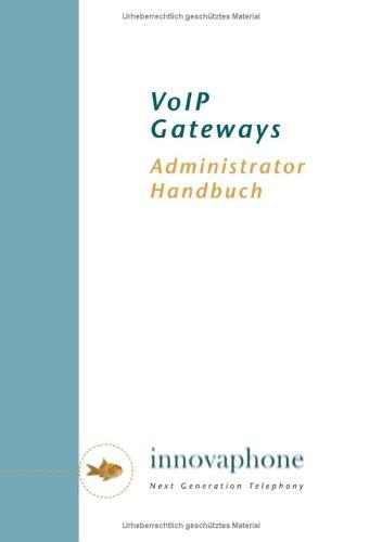VoIP Gateways. Administrator Handbuch. Version 5.0.