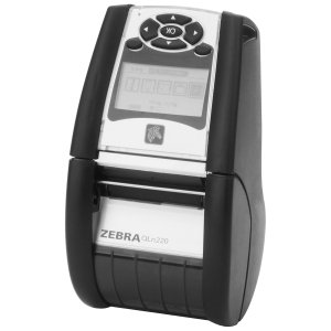 Zebra Technologies - Qn2-Aunb0E00-00 - Zebra Qln220 Direct Thermal Printer - Monochrome - Portable - Label Print - 4 In/S Mono - 203 Dpi - Wireless Lan - Usb - Battery Included - Lcd