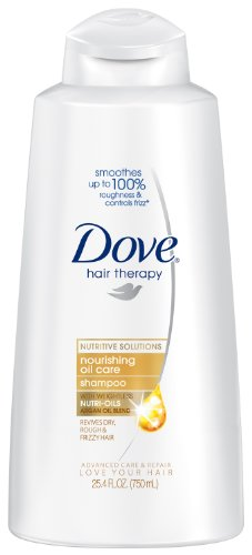 dove shampoo Dove Nourishing Oil Shampoo, 25.4 Ounce