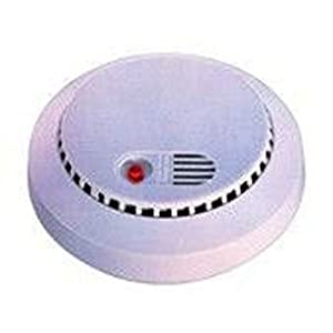 Color Wired Smoke Detector Camera Bottom View