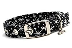Designer Dog Collar ~ Black & White ~ by Dixie DIgs