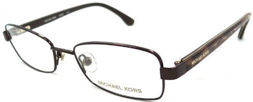Brand New Authentic Michael Kors Rx Eyeglasses Frames Mk497 210 49X17 Brown