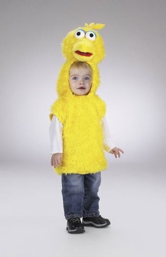 Costumes For All Occasions Dg5005M Big Bird Vest 3T 4T