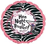 18 INCH HEN NIGHT IN PROGRSS HEN PARTY NIGHT DO BALLOON DECORATION HELLIUM OR AIR ACCESSORIES