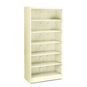 "Hon 626CNL 6-Shelf Open File, Legal, 36""x16-3/4""x75-7/8"", Putty"