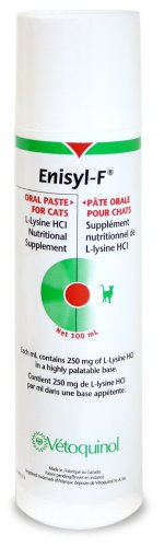 Enisyl-F (L-Lysine) Nutritional Supplement for Cats, Metered Dose Pump 100 mL