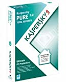 Kaspersky Lab KL1911UBCFS - KASPERSKY PURE 3.0 3 USER 1 YEAR MINI BS UK