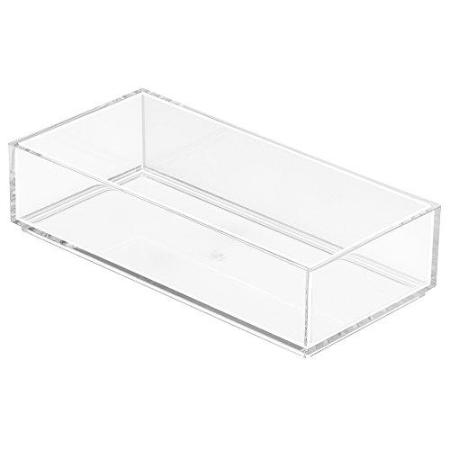InterDesign 49670EU Clarity Tiroir Organiseur Transparent 10 x 20,5 x 5 cm