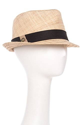Goorin Bros. Men's Cahoots Woven A-Crown Fedora Hat