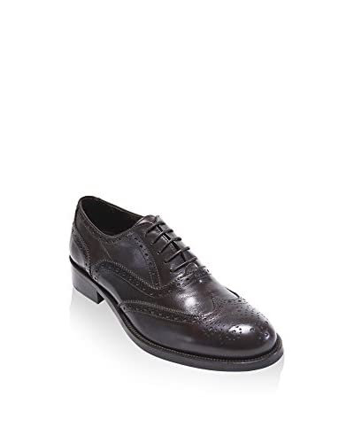 BRITISH PASSPORT Zapatos Oxford Wing Cap Pardo