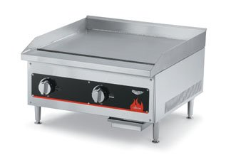 "Vollrath (40718) - 12"" Gas Flat Top Griddle - Cayenne Series"