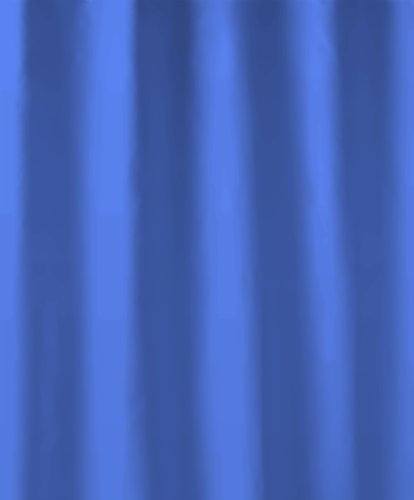 Kleine Wolke 4945763352 Duschvorhang Phönix, 240 x 180 cm, electric blau