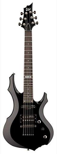 Esp Ltd F-Junior Electric Guitar (With Gig Bag), Black