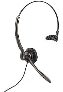 Plantronics Headset für Mobiltelefon mit 2,5 mm Klinkenstecker (z.B. Sharp, Panasonic, Motorola V-Serie)