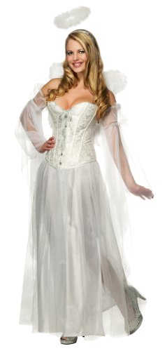 Secret Wishes Deluxe Angel Costume With Corset